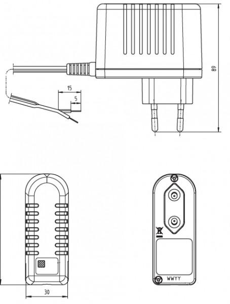 PP8 Lader 2D Zeichnung